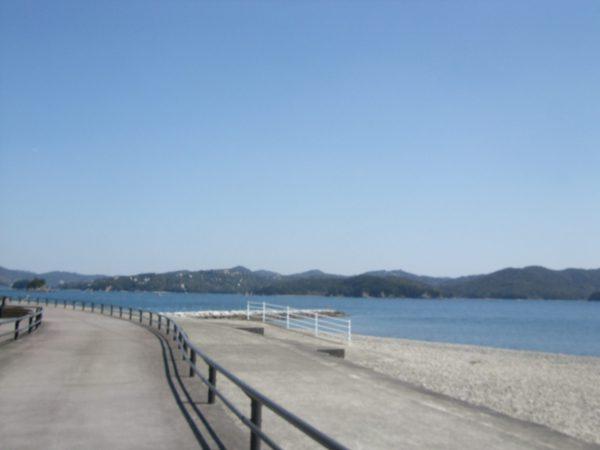 街宣中に立ち寄った三重県南伊勢町の風景