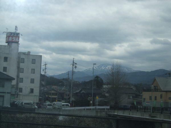 恵那山の風景