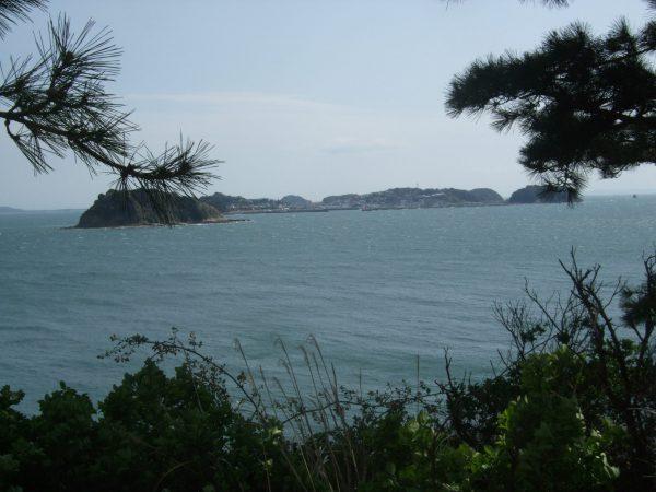 日間賀島から見た篠島