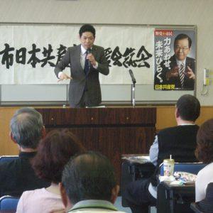 三重県・桑名市後援会総会に武田参院議員と一緒に参加しました