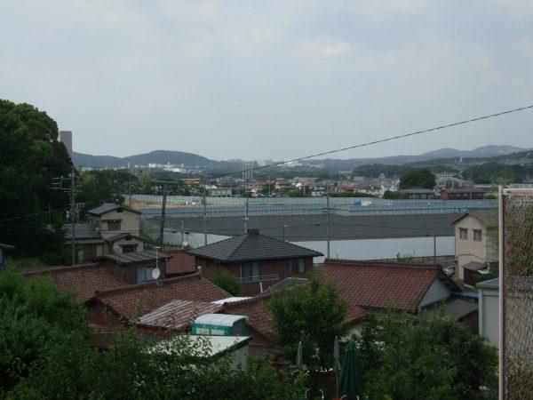 リニア建設工事が進む愛知県春日井市の坂下非常口の工事現場
