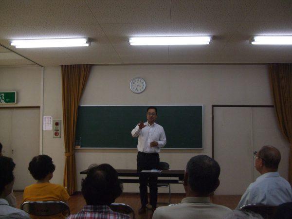 岐阜県美濃加茂市で行われた集いの様子