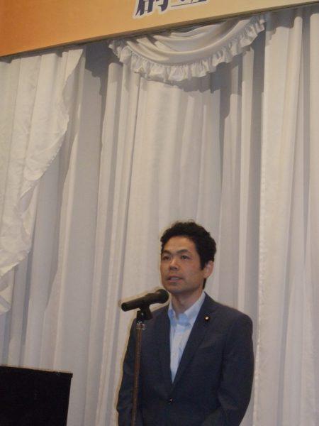 武田参院議員あいさつ