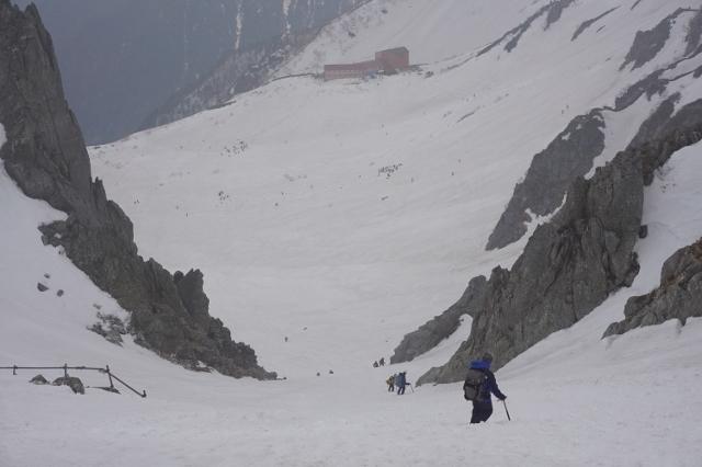 5月、冬の木曽駒、山行