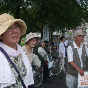 愛知県春日井市で街頭宣伝と集いに参加しました