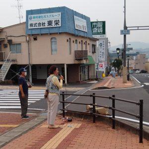 8月8日、戦争いやだ!憲法9条守れ!中津川市総がかり行動が行われました。