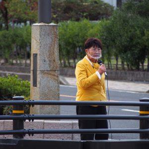 10月24日「戦争いやだ!憲法9条守れ!中津川市総がかり行動」が行われました。